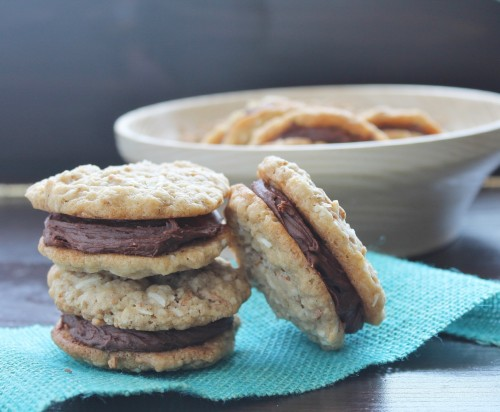 Fudge Filled Fibre Cookies