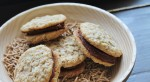 Saturday Sweets: Oatmeal Fudge Sandwich Cookies