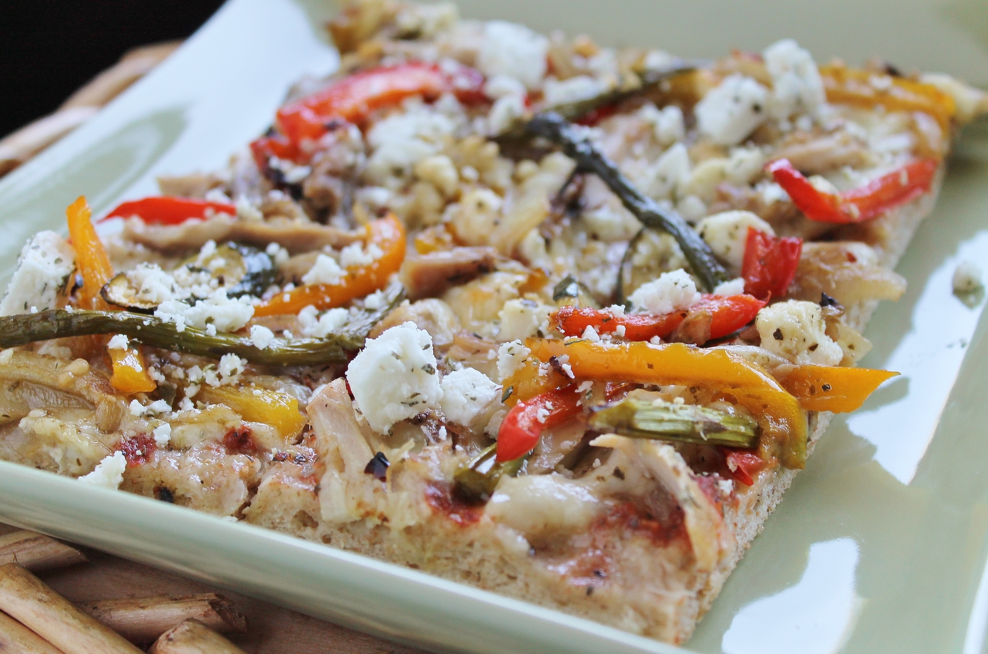 Grilled Vegetable Pizza