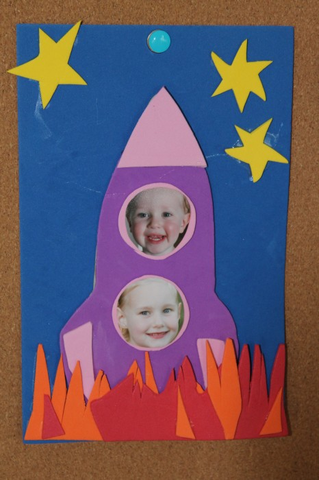 preschool rocket craft
