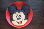 Mickey Mouse Cake - no special pans required!