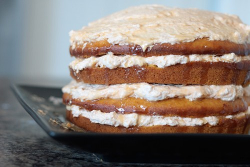 Kraft Pumpkin Layer Cake