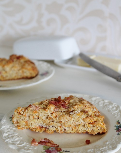 Sweet Potato and Bacon Scones