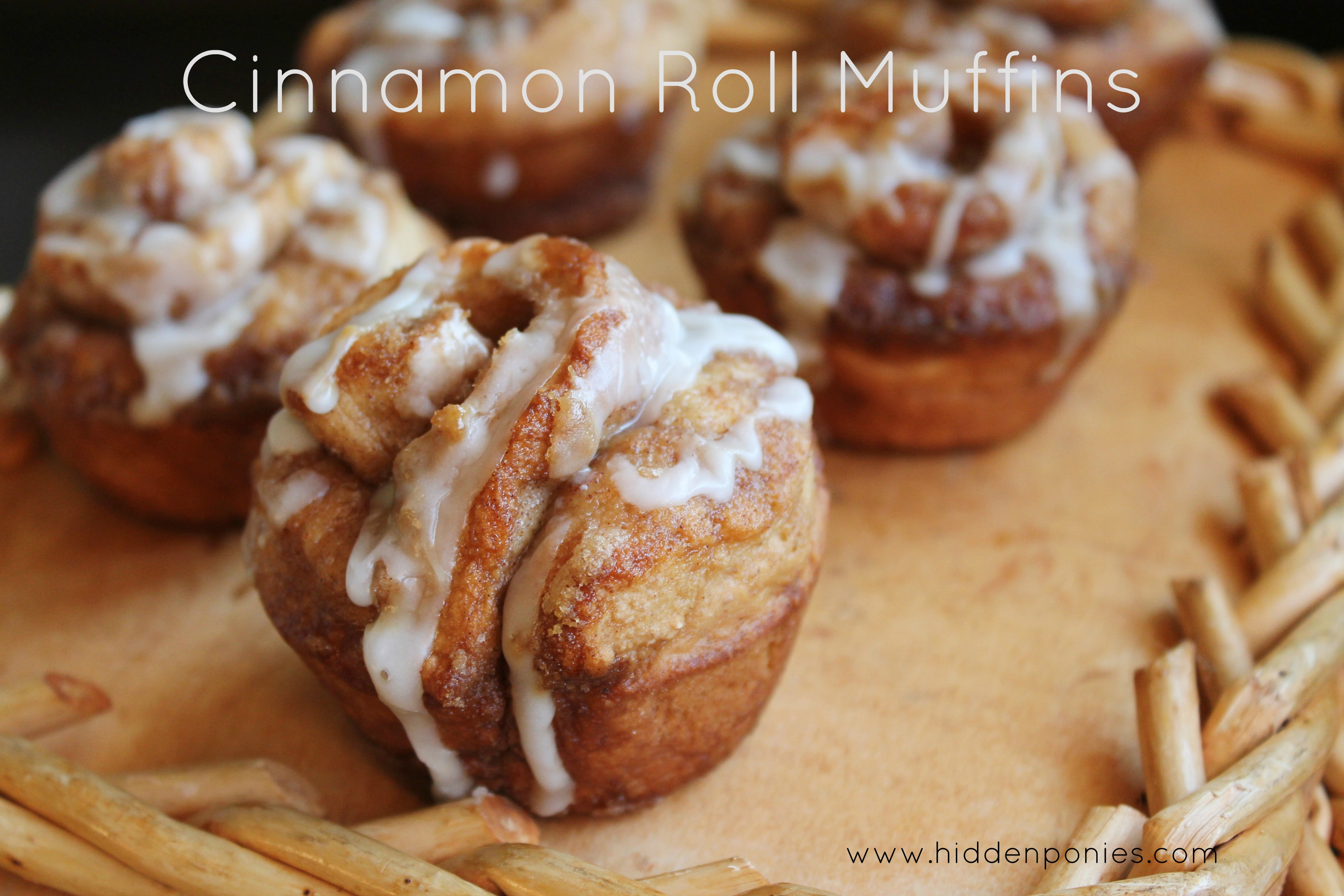 Cinnamon Roll Muffins - a quick everyday way to get your cinnabon fix!