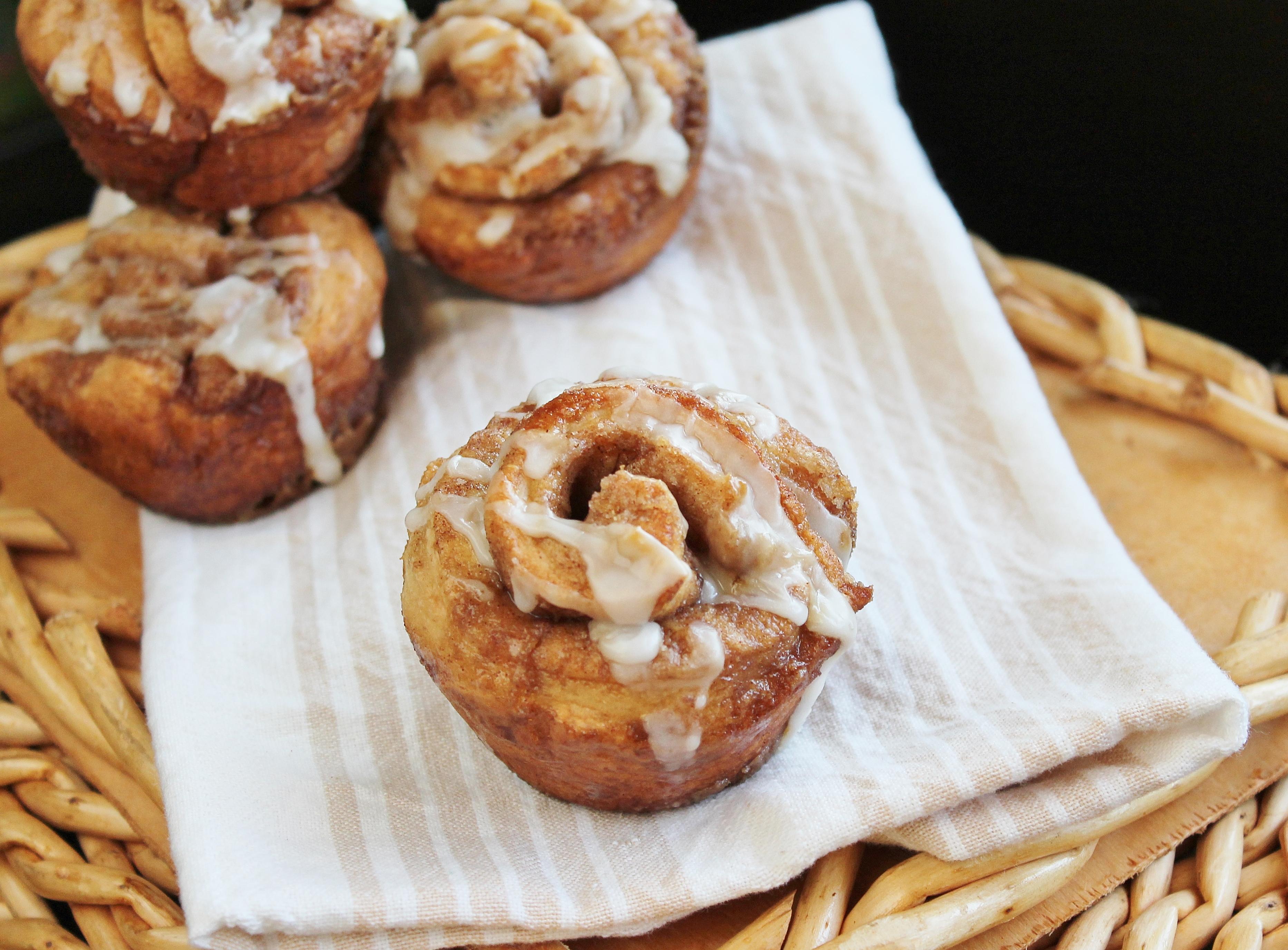 Quick cinnamon muffin recipe