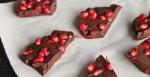 Dark Chocolate Pomegranate Bark