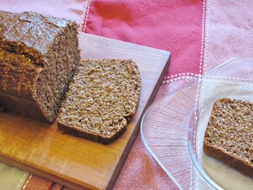 Pumpernickel Bread - high fibre, low fat | www.hiddenponies.com