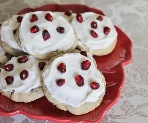 Pomegranate Bliss Cookies from www.hiddenponies.com