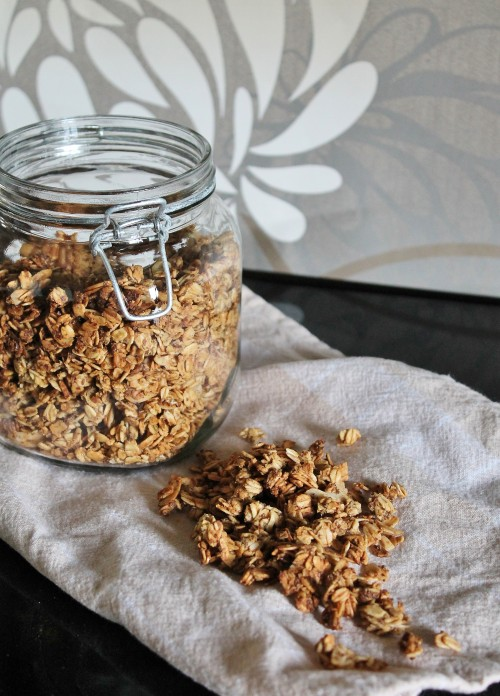Pumpkin Almond Granola Recipe