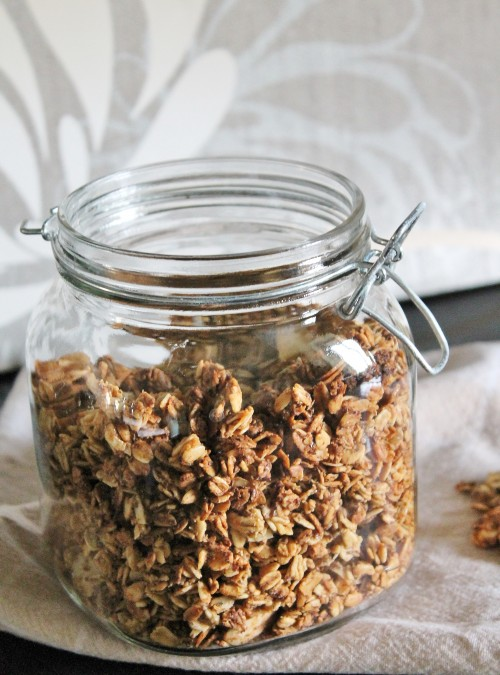 Pumpkin Almond (or Pecan) Granola