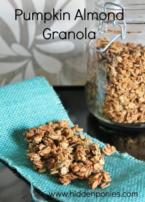 Pumpkin Pecan Granola Recipe