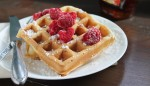 Whole Wheat Raspberry Waffles