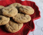 Saturday Sweets: Gingerbread Drop Cookies