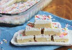 Sugar Cookie Bars | hiddenponies.com