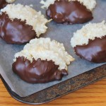 Saturday Sweets: Dipped Coconut Macaroons