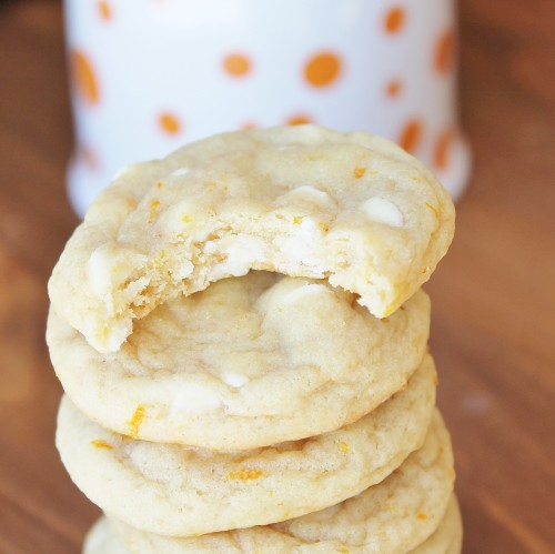Orange Creamsicle Cookies - delicious soft-batch cookies that taste like an orange creamsicle!