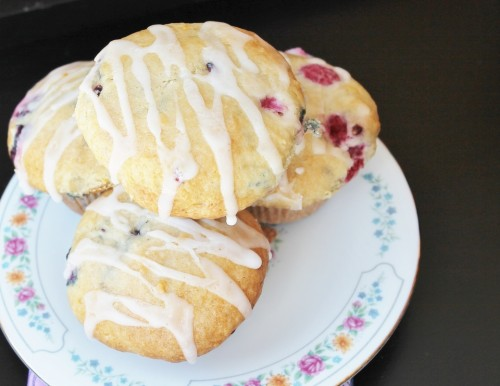 Mixed Berry Muffin Recipe