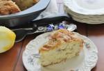 Lemon Rhubarb Coffee Cake