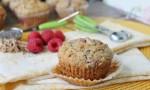 Raspberry Chia Bran Muffins
