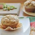 Perfect Rhubarb Muffins