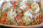 Mom's Recipes: Tomato Basil Chicken Casserole