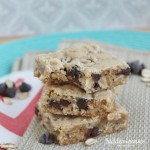 Oatmeal Chocolate Chip Squares