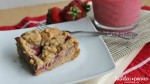 Strawberry Oat Bars (with Strawberry Chia Jam)