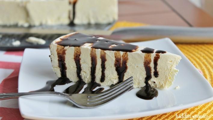 Frozen No-Bake Orange Cheesecake