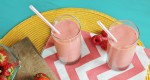 Peach Berry Smoothies {SunRype 900 mL Juice Giveaway!}