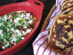 Mom's Recipes: Tomato and Feta Baked Eggs