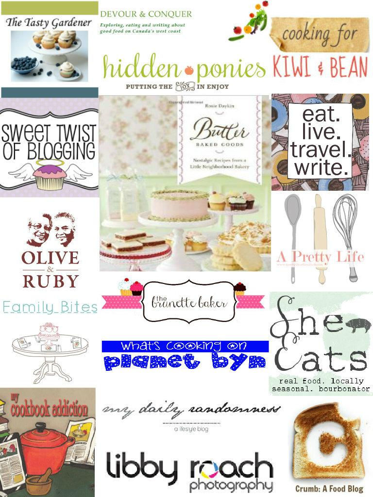 Baking blog giveaways list
