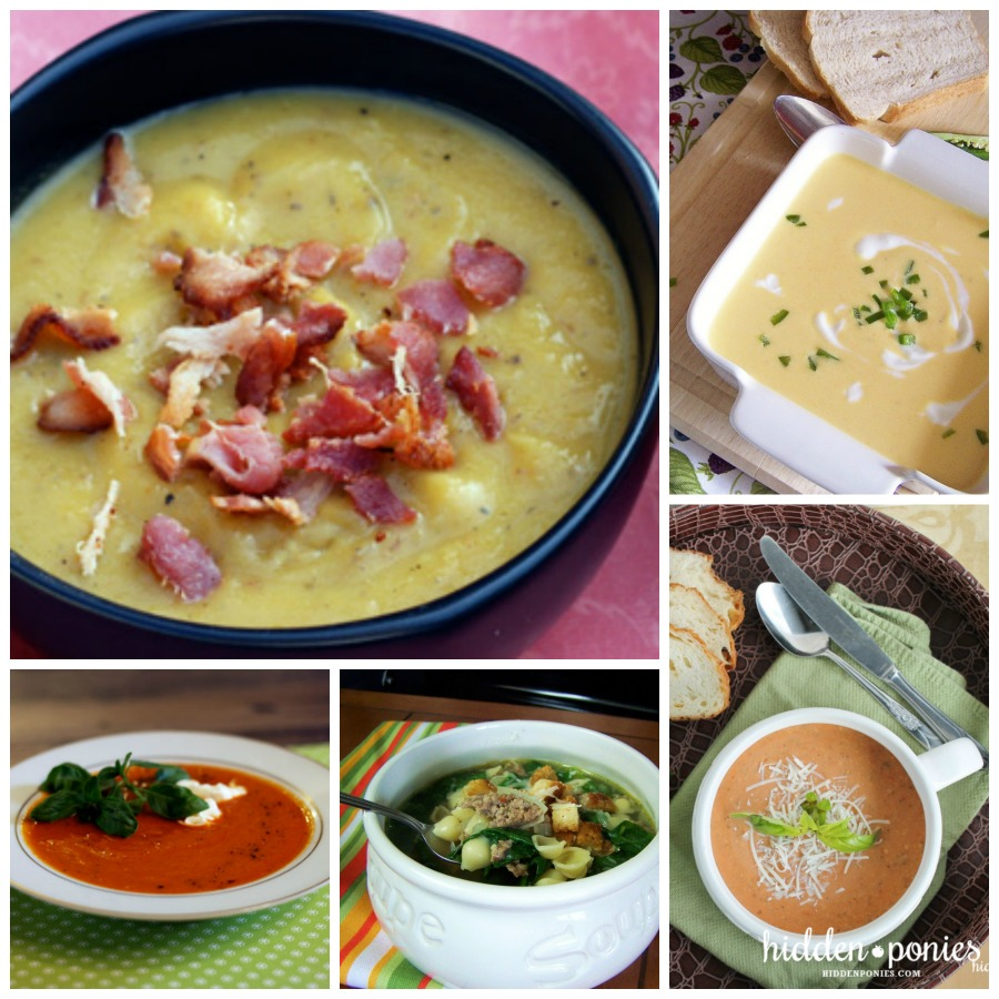 10 Delicious Soups to make this fall