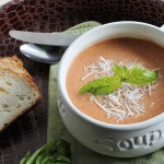Slow Cooker Tomato Parmesan Soup
