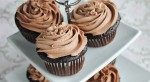 Chocolate Wedding Cupcakes with Chocolate Buttercream
