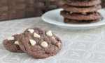 Dark & Dangerous Triple Chocolate Cookies