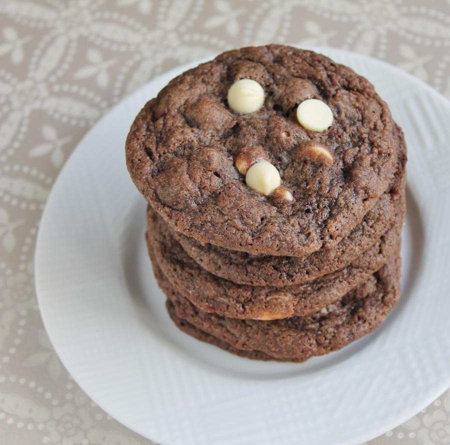 Dark & Dangerous Triple Chocolate Cookies
