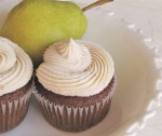 Ginger Pear Cupcakes with Cinnamon Cream Cheese Frosting