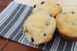 Bluberry White Chocolate Muffins