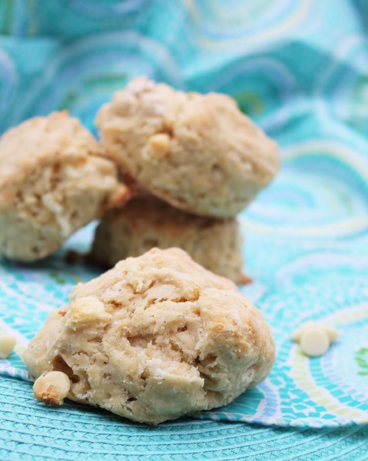 vanilla cinnamon scones
