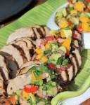 Rush Hour Meals: Pork Tenderloin with Mango Avocado Salsa