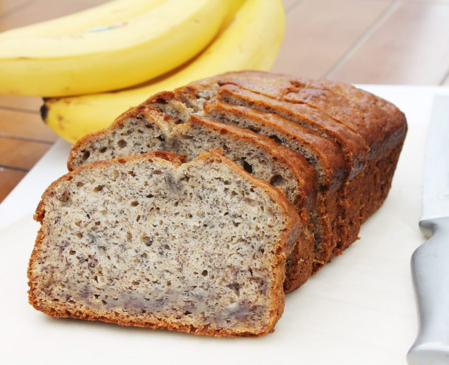 FIVE banana loaf - the perfect way to use up a pile of overripe bananas!
