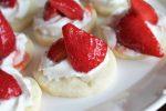 Strawberry & Cream Shortbread