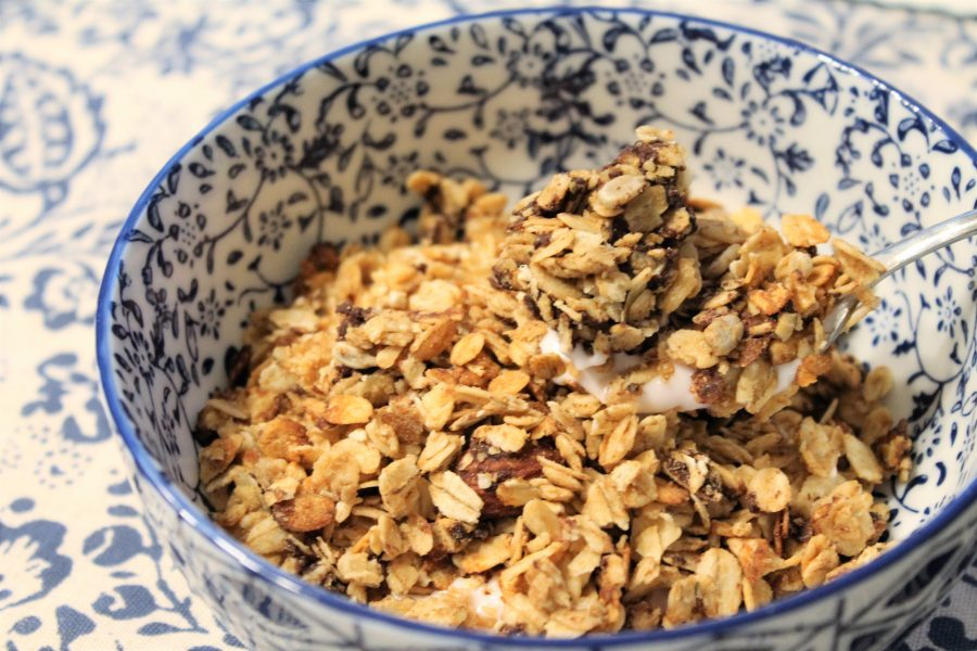 Slow cooker granola - big batch!