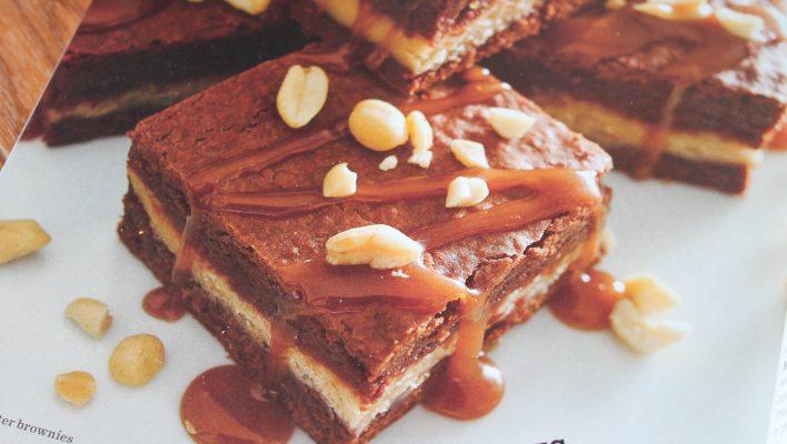 Ricardo's Peanut Butter Brownies