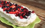 Berry Meringue Torte