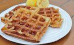 Lemon Chia Seed Waffles