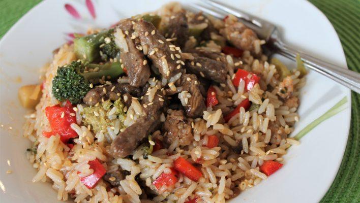 Beef & Broccoli Teriyaki (Freezer meal!)